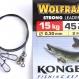 KONGER wolfram tafs 25cm 15kg 2-pack