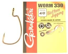 Gamakatsu offset krok 4/0 5-pack -
