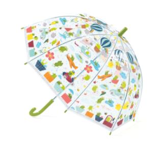 Paraply grönt.