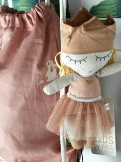 Prinsessa med balettkjol.