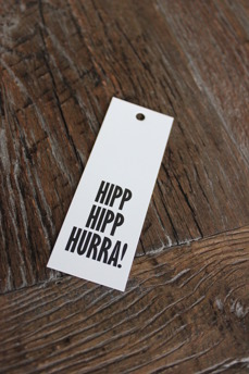 KORT HIPP HIPP HURRA