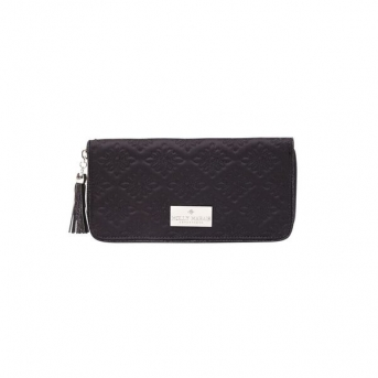 PASSPORT HOLDER BLACK MOLLY MARAIS