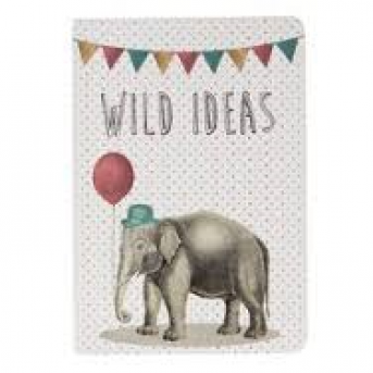 POCKET NOTEBOOK PARTY ANIMALS ELEPHANT