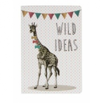 POCKET NOTEBOOK PARTY ANIMALS GIRAFFE