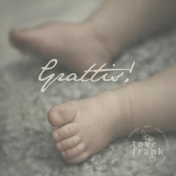 KORT LITET 'GRATTIS BABY'
