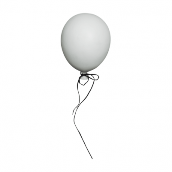 BALLOON WHITE MEDIUM