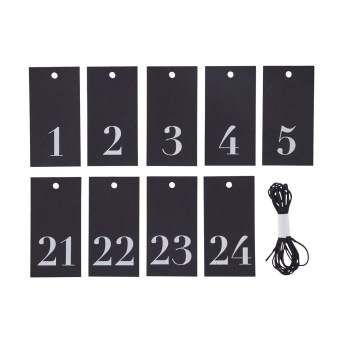 GIFT TAGS NO.1-24              HOUSE DOCTOR