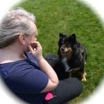 Helena och Molly ska starta Gympa med Hund i Partille