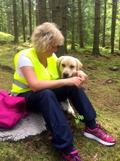 Gympa med hund skapar relationer