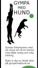 Gympa med Hund