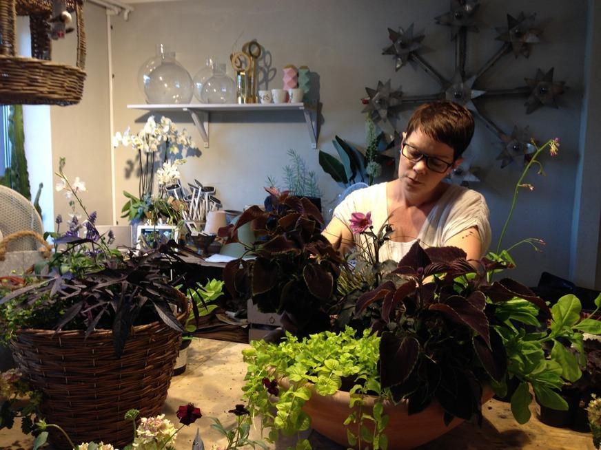 Workshop hos Blomsterbutiken i Höganäs