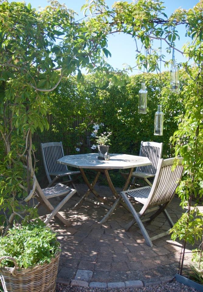 Bild från trädgårdsreportage hos Arkitektens Trädgård