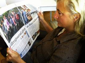 Maria Langen SVD artikel Nordkorea foto: Sverre Sverredal