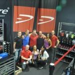 En stor del av Team Dcore samlat på en bild! Härligt gäng!
