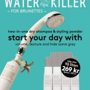 Evo Limited Offer- Water Killer for Brunettes