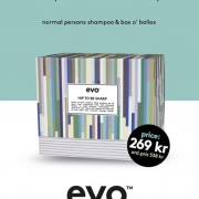Evo Limited Edition- Hip To Be Sharp box