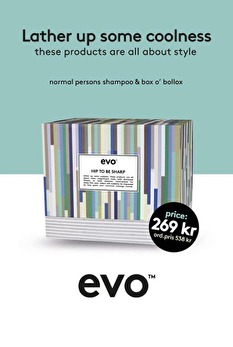 Evo Limited Edition- Hip To Be Sharp box -