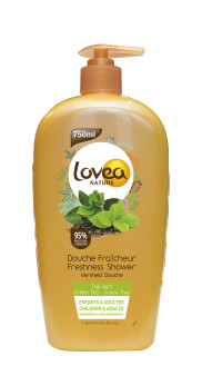 Lovea Nature Green Tea showergel 750ml - Lovea Nature Green Tea showergel 750ml