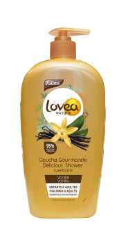 Lovea Nature Vanilla shower Gel - Lovea Nature Vanilla shower Gel