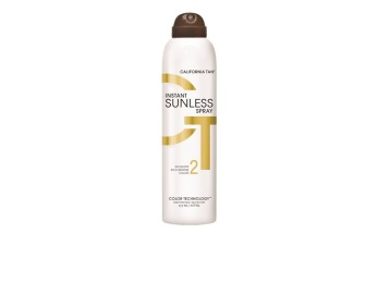 California Tan, Instant Tan Sunless Spray 177ml - California Tan, Instant Tan Sunless Spray 177ml