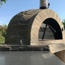 Forno Pizza Stone, vedugn / stenugn / pizzaugn