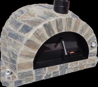 Forno Pizza Stone Premium Plus - Pizzaugn | Vedugn | Stenugn - 100x100 cm grå - Plus Stone Pizza