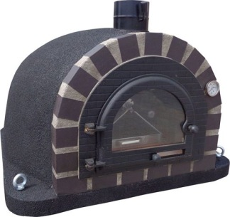 Forno Traditional Deluxe - Premium - 90x90 cm svart - Deluxe Traditional
