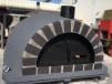 Forno Pizza Deluxe Premium - Pizzaugn | Vedugn | Stenugn - 120x120 cm mörkgrå - Deluxe Pizza
