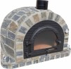 Forno Traditional Stone Premium Plus - Pizzaugn | Vedugn | Stenugn - 120x120 cm grå - Plus Stone Traditional