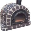 Forno Traditional Mosaic Premium - Pizzaugn | Vedugn | Stenugn - 120x120 cm svart - Mosaic Traditional