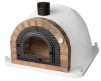 Forno Traditional White - Pizzaugn | Vedugn | Stenugn - 120x120 cm - Forno Traditional White