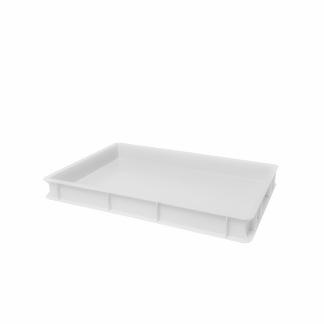 Deglåda / Degback för pizzadeg - Vit deglåda 60x40x7cm