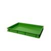 Deglåda för pizzadeg - Grön deglåda 60x40x7cm