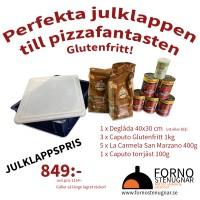 Pizzakit - Deglåda, glutenfritt mjöl, torrjäst och San Marzano-tomat