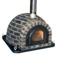 Forno Traditional Black Rustic Premium Plus - Pizzaugn | Vedugn | Stenugn