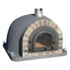 Forno Traditional Deluxe Premium - Pizzaugn | Vedugn | Stenugn - 120x120 cm mörkgrå - Deluxe Traditional