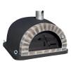 Forno Pizza Deluxe Premium Plus - Pizzaugn | Vedugn | Stenugn - 120x120 cm svart - Plus Deluxe Pizza