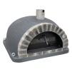 Forno Pizza Deluxe Premium Plus - Pizzaugn | Vedugn | Stenugn - 120x120 cm mörkgrå - Plus Deluxe Pizza