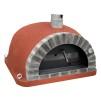 Forno Pizza Deluxe Premium Plus - Pizzaugn | Vedugn | Stenugn - 120x120 cm röd - Plus Deluxe Pizza