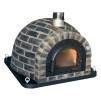 Forno Traditional Black Rustic Premium - Pizzaugn   Vedugn   Stenugn - 120x120 cm Rustic Traditional