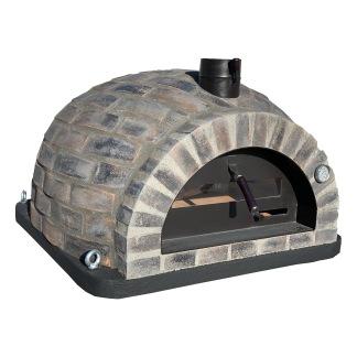 Forno Pizza Black Rustic Premium - Pizzaugn | Vedugn | Stenugn - 100x100 cm - Pizzaugn Rustic Black