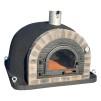 Forno Traditional Deluxe Premium Plus - Pizzaugn | Vedugn | Stenugn - 120x120 cm svart - Plus Deluxe Traditional