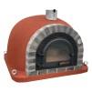 Forno Traditional Deluxe Premium Plus - Pizzaugn | Vedugn | Stenugn - 120x120 cm röd - Plus Deluxe Traditional