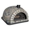 Forno Pizza Black Rustic - Pizzaugn | Vedugn | Stenugn - 120x120 cm -Forno Pizza Black Rustic