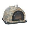 Forno Traditional Stone - Pizzaugn | Vedugn | Stenugn - 120x120 cm grå - Forno Traditional Stone