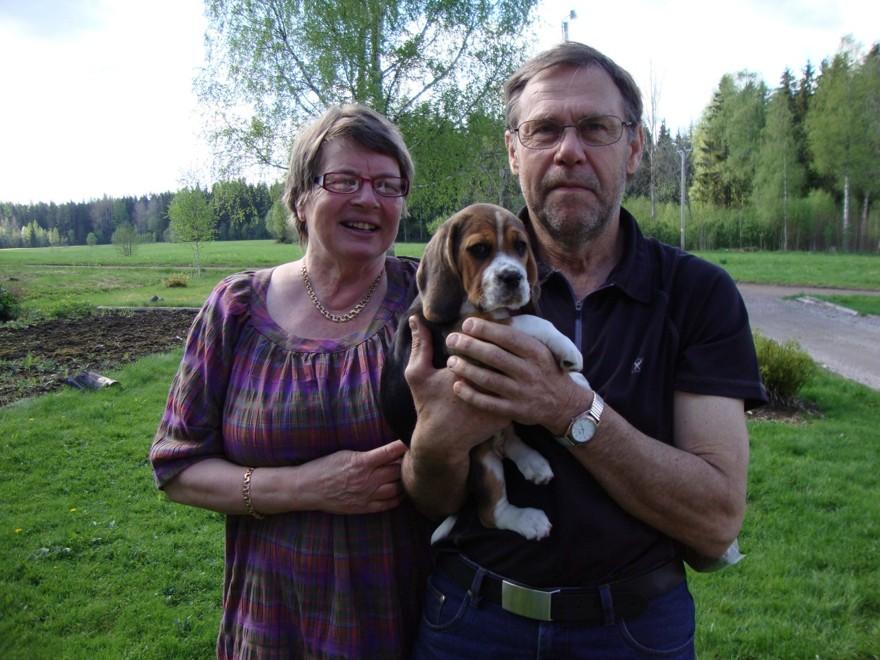 Klocksberg's Athena med ägarna Laila & Karl-Ivar, Urshult