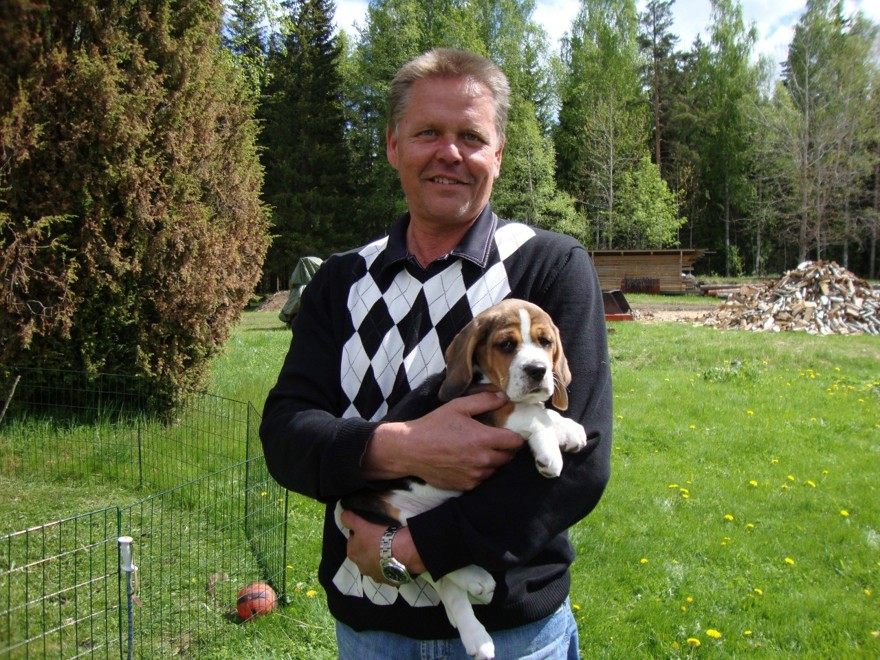 Klocksberg's Amazon med ägare Micke, Märsta