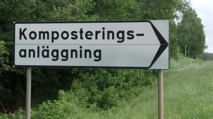 Kuskatorpets anläggning ligger på Kistinge, mitt emot Stena.