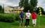 Kortbanegolf på Villa Lowar-tomten