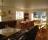 Salongen på Villa Lowar - både matsal för 28+ gäster och bekväm sittgrupp